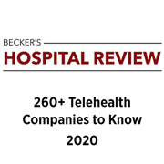 Becker's Hospital Review: 260+ telehealth companies to know